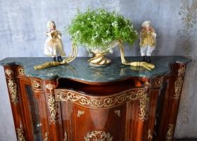 stylowa komoda barokowa marmurowy blat