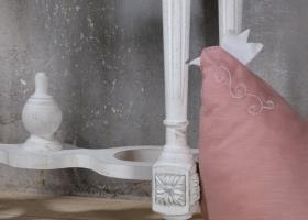 nogi stylowej konsoli przyściennej prowansalskiej