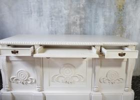 biurko barokowe z szufladami