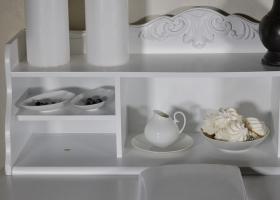 półka stylowego biurka prowansalskiego