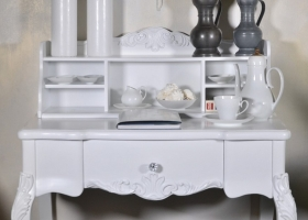 stylowe biurko drewno mdf prowansalski styl
