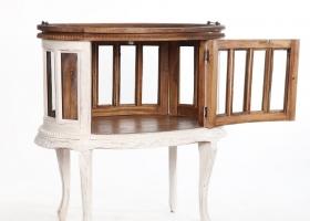 barek drewniany wiejski rustykalny
