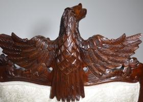 orzeł z drewna ludwik barok