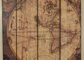 mapa w stylu vintage
