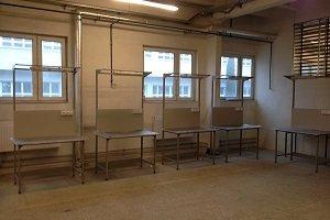 metalowe stoły montażowe do badania kontroli jakości