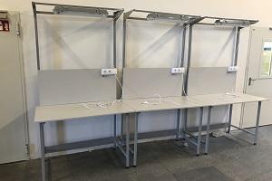 stół monterski raconstruction do kontroli jakości