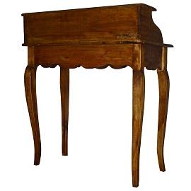 biurko sekretarzyk w stylu rustykalnym